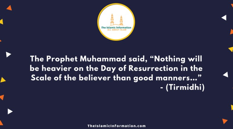 Good manners hadiths