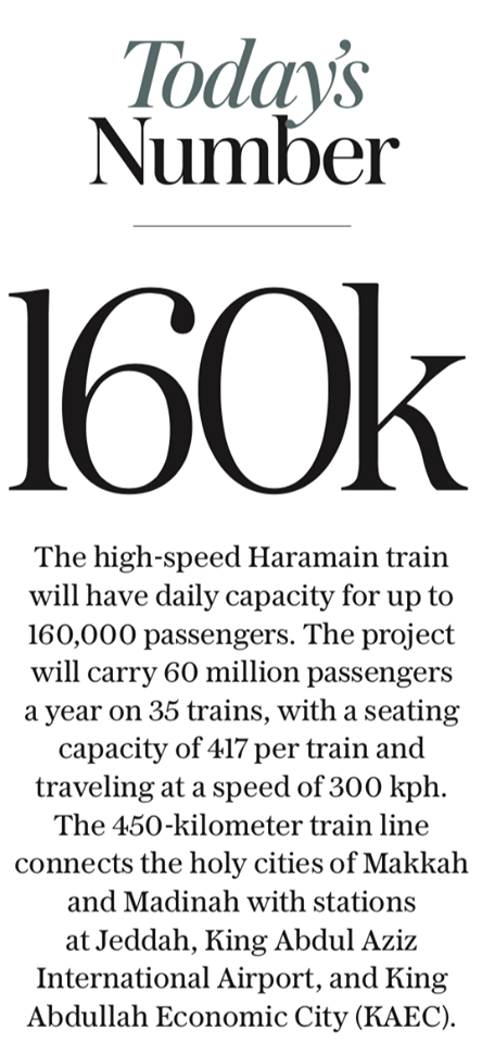Haramain Fastest Railway Station Connecting Makkah and Madinah Inaugurated 3