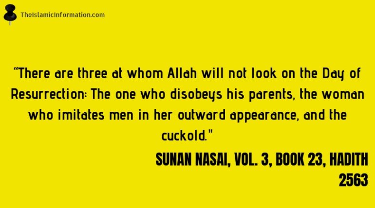 disrespecting parents sin islam