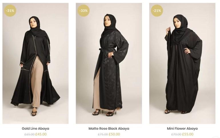 buy abayas online London