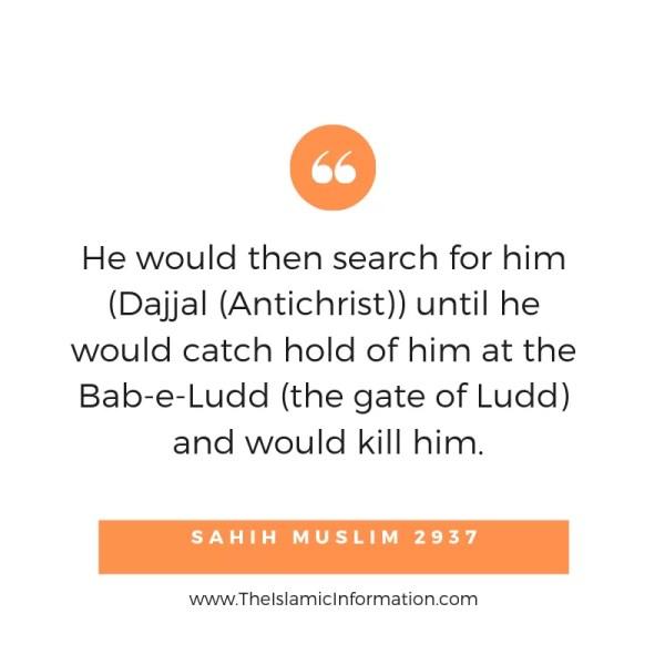 Dajjal killing hadiths (3)