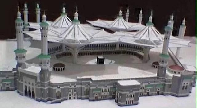 AC in Masjid al haram