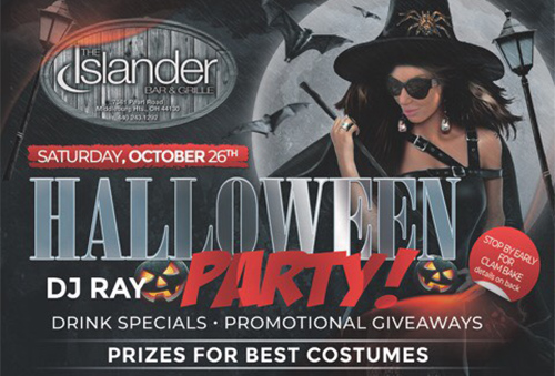 Don't Miss Our Famous Halloween Party!