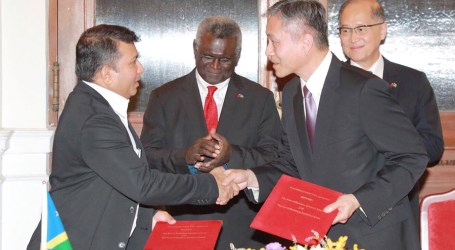 Sogavare welcomes MOU signing of Honiara and Kaohsiung ports