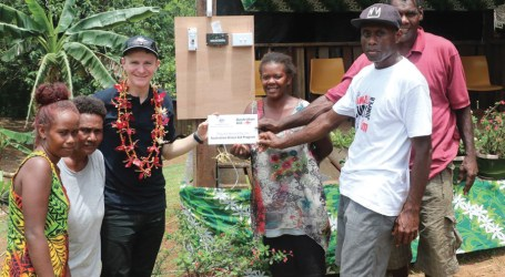 Australia solar charges 3 Guale villages