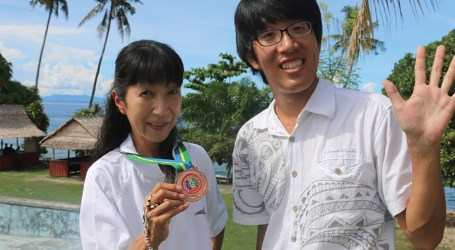 Jap volunteers complete assignment, return home