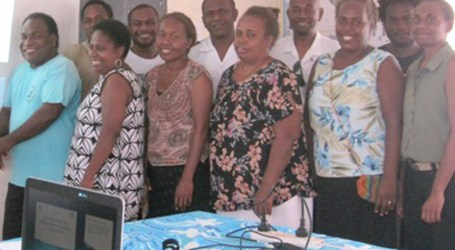 Kilu'ufi staff undergo database training