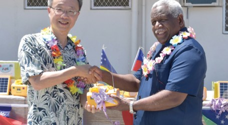PM Hou insists fair distribution of Taiwan-donated lamps