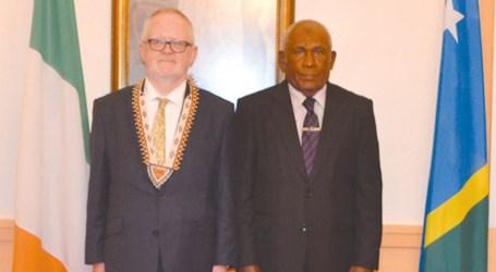 Irish ambassador to Solomon Islands presents credentials