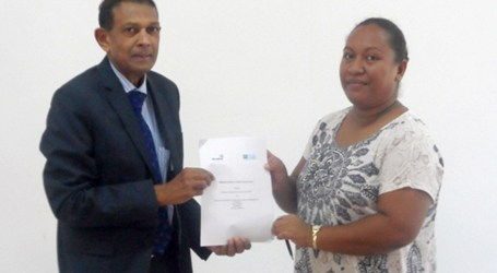 SINU and WorldFish sign MOU
