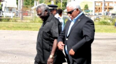PM Hou denied proper protocol at Brisbane departure this week
