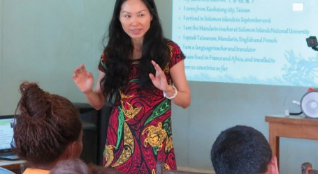 Honiara High hosts last Mandarin awareness activity