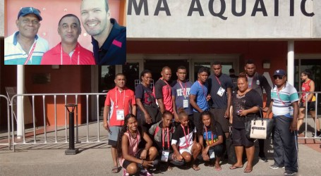 SI National Swimming team focus on Pacific Games 2019