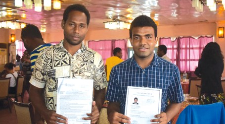 The ultimate focus is to get that qualification, scholarship recipients told