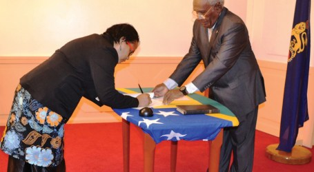 Gov't appoints third female PS