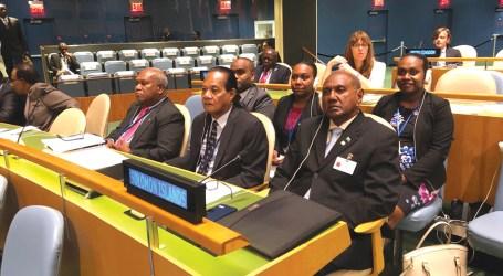 Minister Tozaka addresses Mandela's Peace Summit at UNGA