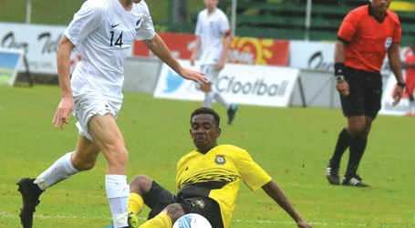Young All Whites hit eight past Vanuatu
