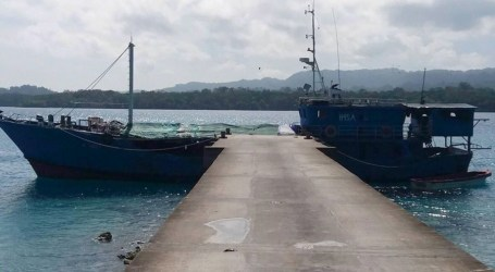 Ship detained for illegal beach trading in Choiseul