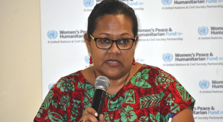 Protection committee launched to build women and girls capacity in disaster response