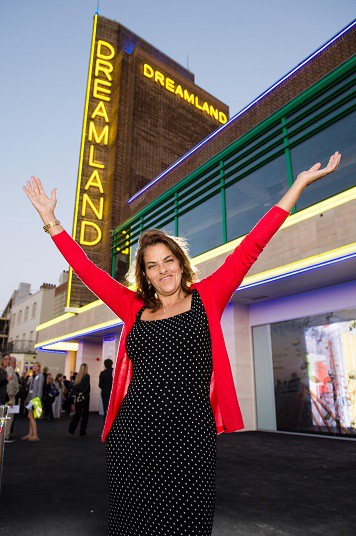 Tracey Emin lights up the skies
