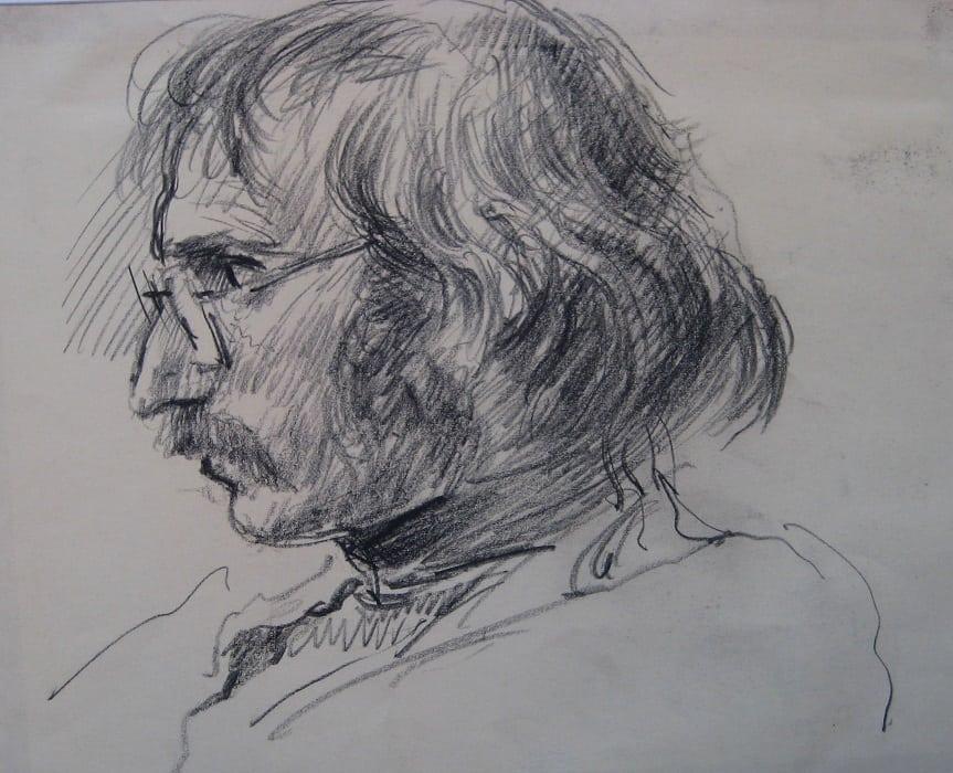 CJA portrait study 20 Graham Bird