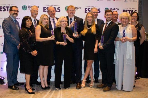 Boys & Maughan win five ESTAS trophies