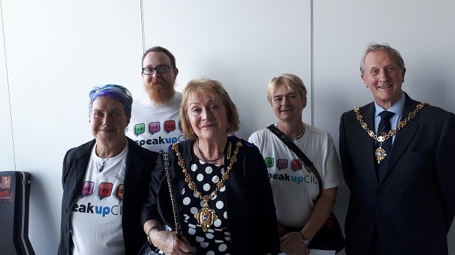 cic group thanet mental health support groups listen up event success