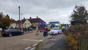A Road In Ramsgate Is Closed Following A Multiple Vehicle Crash