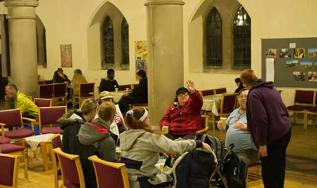 Ignite scheme at st pauls church in cliftonville to be blueprint everyone is welcome at ignite photo jim drew malvernweather Choice Image