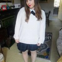 Christmas outfit & makeup
