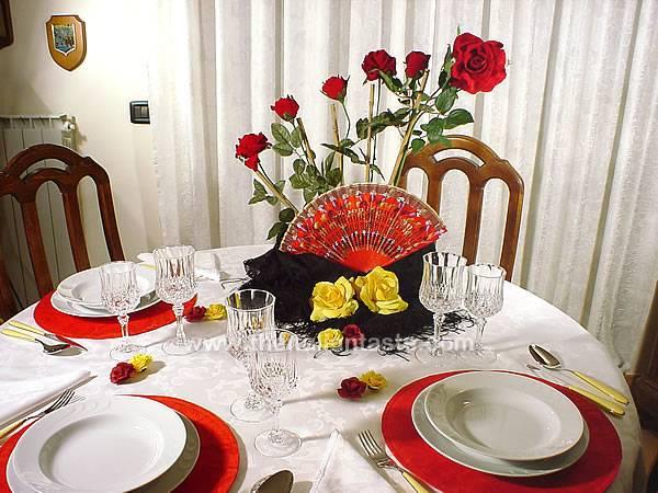 Spanish Table Setting