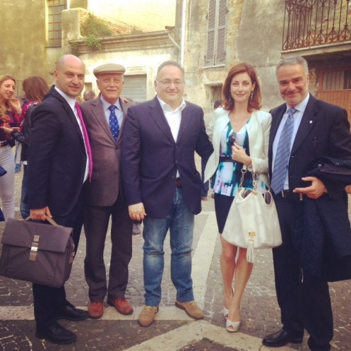With Paolo Lauciani and Alessandro Tozzi, Bibenda wine guide and Fis and some Abruzzo wine producers