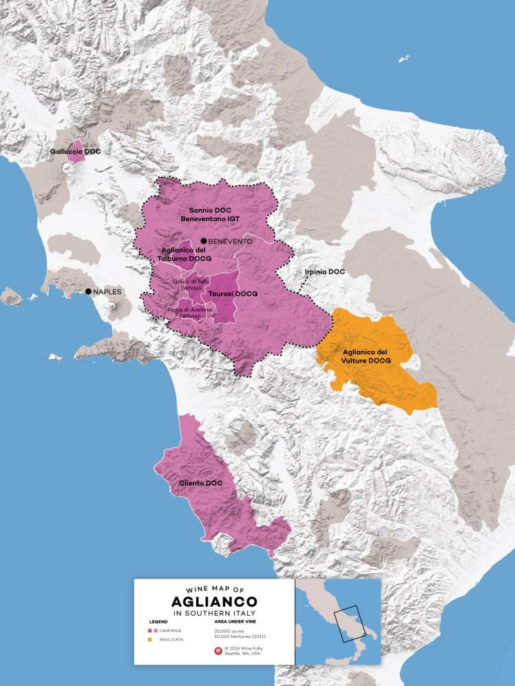 Wine-Map-Southern-Italy-Aglianico-Basilicata-Campania