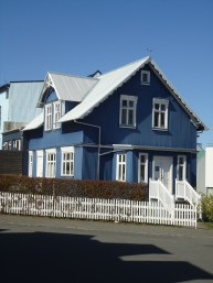 Colourful house in Reykjavik
