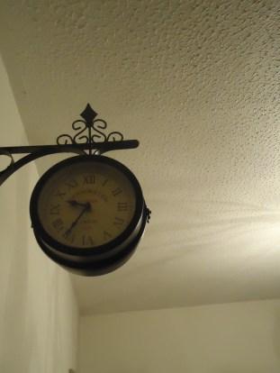 An eye is on the clock - always.