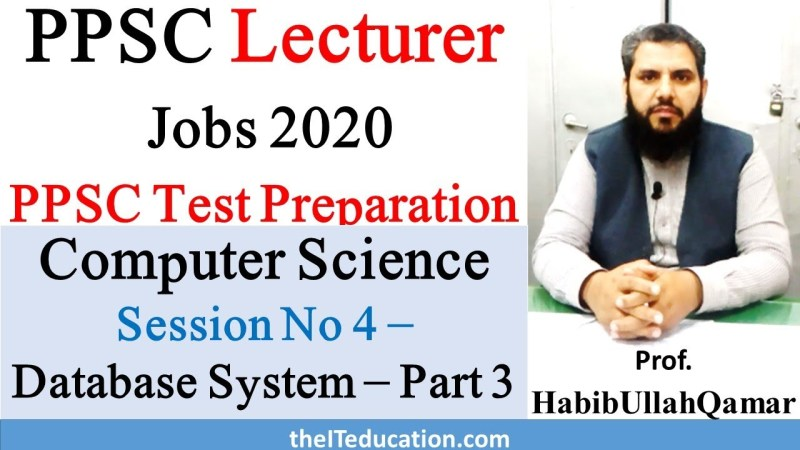 PPSC Lecturer computer science preparation online videos free