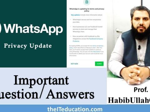 Whatsapp new Policy 2021 and Alternatives of WhatsApp-min
