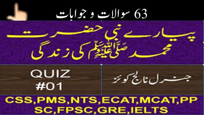 seerat un nabi in urdu pdf