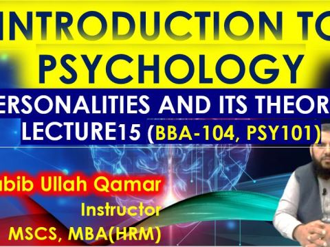 Personality and its theories intro to it