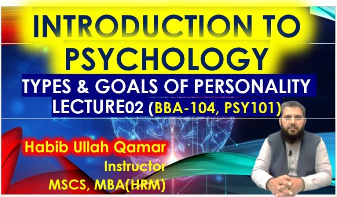 Types and Goals of Psychology   Psychology Lectures in Urdu / Hindi   Lecture 2
