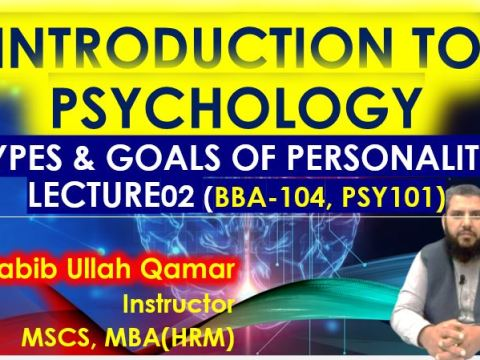 Types and Goals of Psychology | Psychology Lectures in Urdu / Hindi | Lecture 2