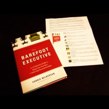 """ Barefoot Executive"" Book Read"