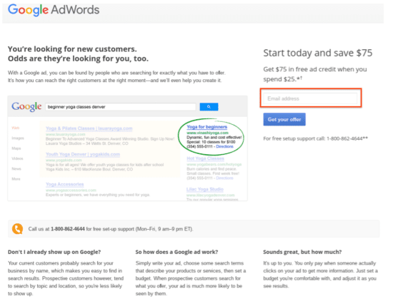 adwords promo code
