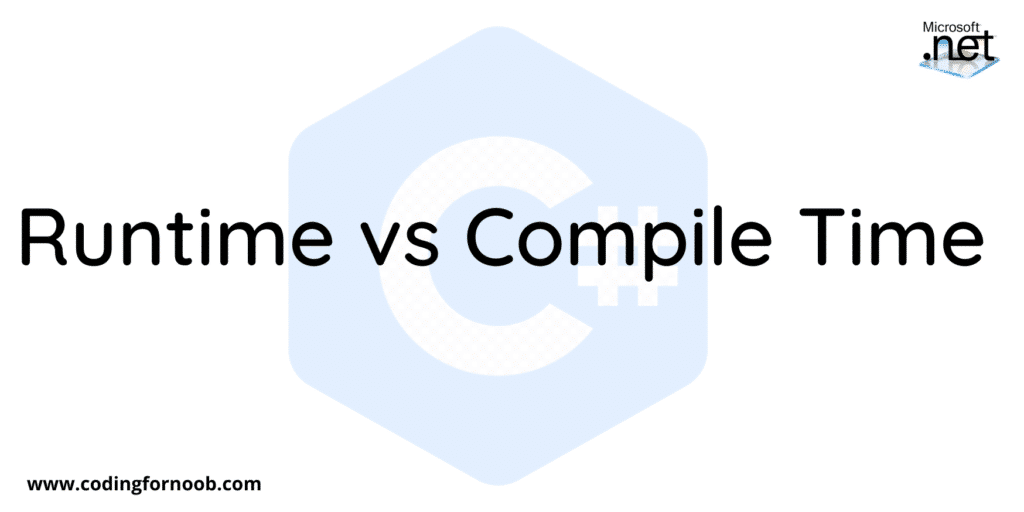Runtime-vs-Compile-time