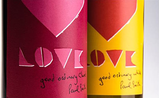 ポール・スミスがボトルデザインのワインが限定5,000本で発売