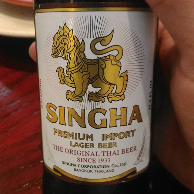Singha from Thailand. Not bad. 6/10
