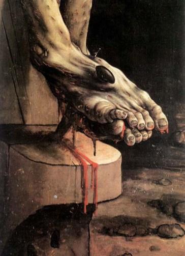 the-crucifixion-detail-Matthias_Grunewald2