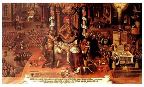 Rigsdagen i Augsburg 1530, Eisenach, Pfarrkirche St-Georg 2800x1700