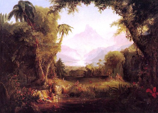 Cole_Thomas_The_Garden_of_Eden_1828