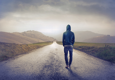 solitary-walk